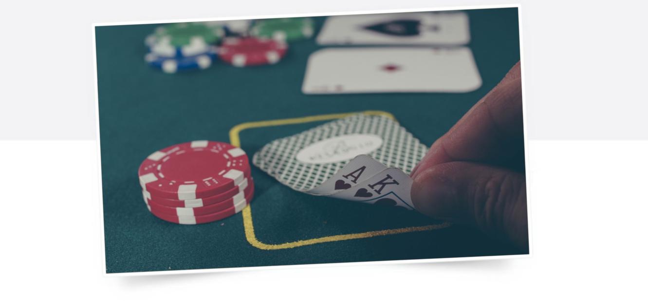 Glücksspiel Pokerkarten