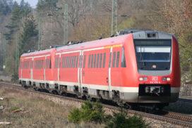 Regionalzug der Deutschen Bahn
