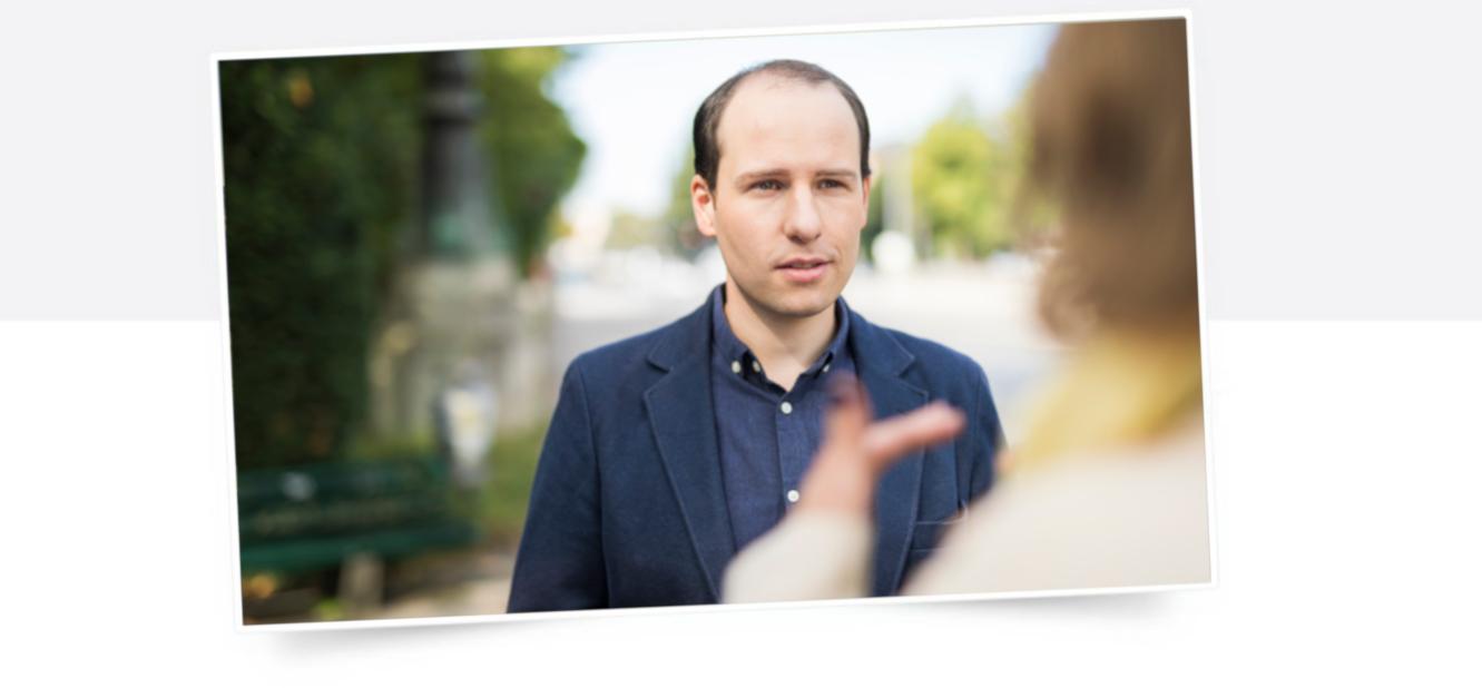 Tim Pargent im Gespräch